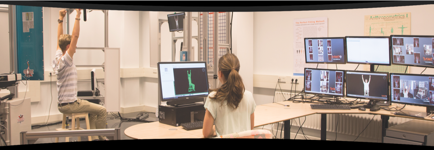 4D Body Scanning Lab