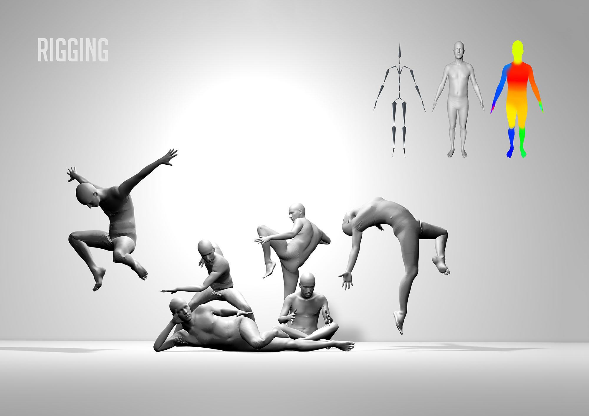 Animating Manikins